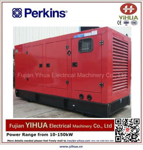 160kw/200kVA generatore silenzioso diesel Poweded da Perkins-20171012e