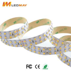 3528SMD doppia riga 1200LEDs per indicatore luminoso di striscia flessibile della bobina LED