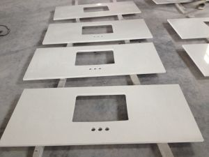 Kunstmatige Countertops van de Steen van het Kwarts voor Keuken en Badkamers