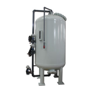 Filtro a sacco risucchiante automatico di pressione per lo stabilimento di trasformazione dell'acqua non depurata