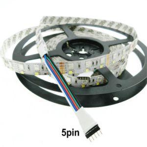 600 LEDs RGBW Fila doble TIRA DE LEDS lámpara