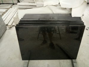 Zwarte Countertop van het Graniet van de Melkweg voor de Bovenkant/de Badkamers van de Keuken