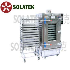 Gaz Commercial/cuiseur vapeur électrique avec 12 plateaux double plaques de vapeur de riz (SK-610)