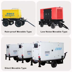motore diesel silenzioso della Perkins del generatore di 275kVA 220kw a basso rumore per il generatore dell'hotel, generatore dell'ospedale, generatore della fabbrica
