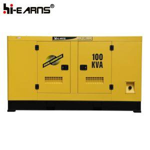10-100KW de Potência do Motor Cummins Preço do conjunto de geradores diesel