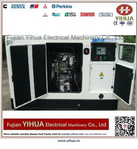 Fawde-Xichaiエンジン20170912fを搭載する12kw/15kVA Denyoの極度の無声ディーゼル発電機