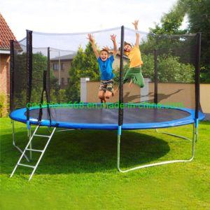 Los niños Coolmore trampolín con carcasa Net y la primavera de cubrir el relleno, trampolín en el exterior de verano divertido ejercicio Fitness Juguetes para niños adultos Indoor/Outdoor