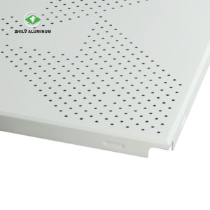 Ventes en gros hôpital dalle de plafond en aluminium perforé avec la norme ISO9001