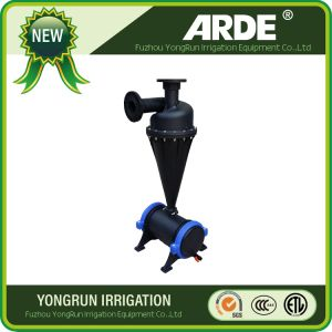 Filtro centrifugo da irrigazione della sabbia dell'acqua di agricoltura