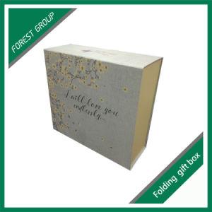 도매 관례 접히는 광택이 없는 선물 상자