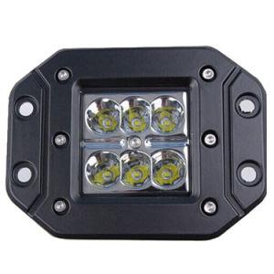Phare de travail de l'Automobile de Cube LED pour les camions 18W 3 pouces E-MARQUE R10 R23 R112
