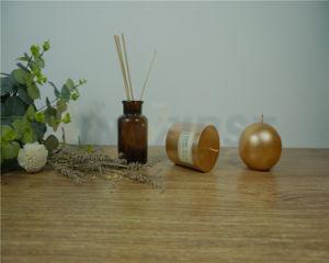 円形の整形香料入りおよび平屋建家屋の柱の蝋燭の芳香の蝋燭と固体着色されて