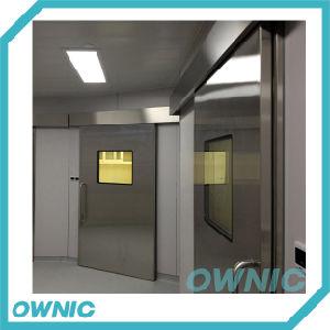 Acero Sainless puerta corrediza automática