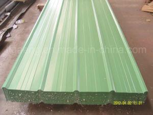 18/28 di calibro ha ondulato lo strato d'acciaio galvanizzato preverniciato del tetto in Africa