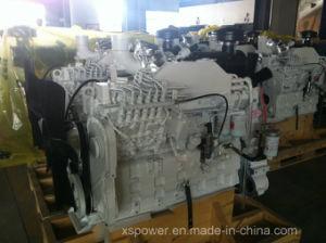 6CT8.3-GM129 Cumminsの海洋の発電機のディーゼル機関かボートはGENセットした