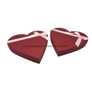 En forma de corazón de Chocolate de papel de embalaje Caja Caja de regalo