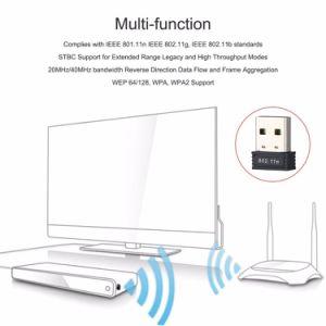 150Mbps 2.4GHz Rtl8188 소형 USB 무선 WiFi 근거리 통신망 네트워크 카드 접합기 WiFi Dongle