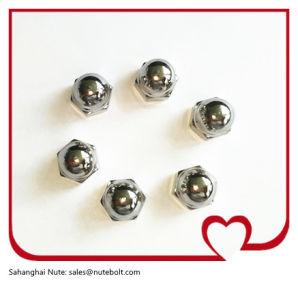 En acier inoxydable 304, les écrous à tête hexagonale, DIN1587, M4-M48
