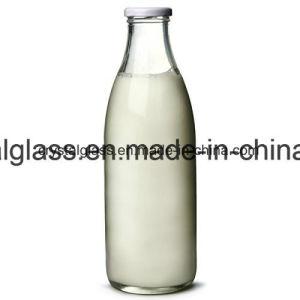 500ml 1L Getränkesaft-Glasmilchflasche mit Zinnblech-Kappe