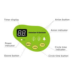 De Ozonisator van de Machine van Ozon voor Cook Tool and Dishware Desinfectie