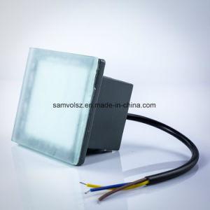 Samvol 3W 6W 12W Novo Design quadrado piso LED lâmpada embutida, Lâmpadas de tijolos de LED, LED luz subterrânea, Lâmpada Inground