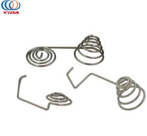 Электронные контакты Никелированные спиральная пружина из нержавеющей стали пружины аккумулятора