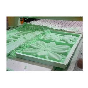 柔らかい材料CNC Cuttting機械輪郭の切断
