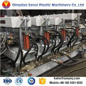 플라스틱 PVC WPC 빵 껍질 또는 Celuka 또는 벗겨진 거품 널 또는 Sheet/WPC 마루 널 압출기 기계