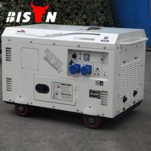 Зубров Китая Taizhou 380V 9 квт 9 Квт 10квт 10квт 50Гц Электрический пуск портативная 2 цилиндра Super Silent дизельный генератор цена