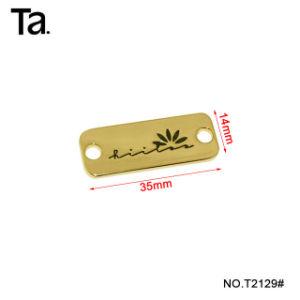 Qualitätsgarantie-Marken-Metallhauptkennsatz für Handtasche