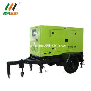 50Hz a 400V 3 Fase de 40 kw chino remolque motor generador diesel