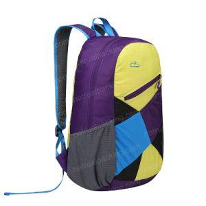 バックパックをハイキングするカスタム屋外のキャンプの走行山Packable