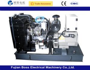 85Kw de puissance électrique générateur diesel avec moteur Yanmar Super Silent Fuzhou Factory