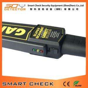 セキュリティシステムのスキャンナーのツールの手持ち型の金属探知器の高い感度の金属探知器