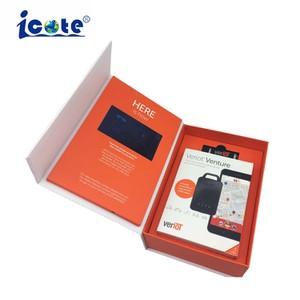 Venda a quente 5  Livro de Vídeo LCD com caixa de cartão