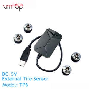 Автомобиль СКДШ шины сигнал тревоги для Android DVD автоматическая система контроля давления в шинах 4 датчиками температуры в шинах сигнал тревоги
