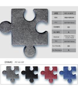 Colorbo die het Materiële Hete Stempelende Akoestische Comité van de Vezel van de Polyester absorberen
