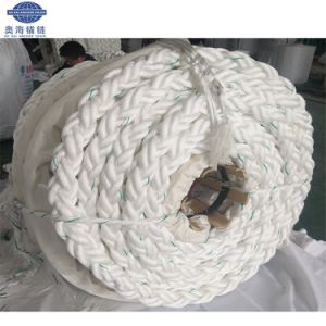 8-Strand flocht das 40mm Polyester PET Liegeplatz-Seil für Lieferung