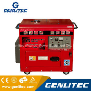 Air Cooled 5000W Long Run Portable Silent Diesel Generator (DG6700SLE)