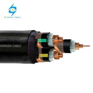 LV 3X240+3X35mm2Mv 3x240mm2 Stapara os mineiros do cabo de alimentação