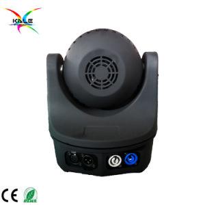 段階6PCS 10Wの蜂の目DMX RGBWの小型ビームLED移動ヘッド洗浄ライト