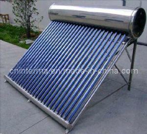 Интегрировать солнечный водонагреватель давления
