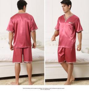Commerce de gros ensembles Pajama Vêtements de nuit de l'homme' S le coton imprimé d'usure de loisirs pour les pyjamas d'hiver de l'usure d'accueil