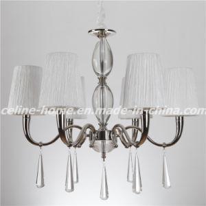 Pingente moderno lustre de iluminação com tecido Sombra (SL2067-6)