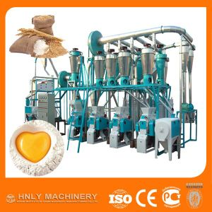 低い電力の消費50t/Dのムギの製粉機械