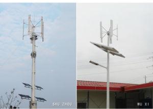 600W H-Tipo generatore di turbina verticale del vento di asse di 48V per la casa