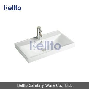 Bathroomのための長方形のDesign Porcelain/Ceramic Hand Wash Cabinet Basin