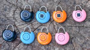 Nouveau style de verrouillage de sécurité d'empreintes digitales avec alarme automatique et intelligente Sac de serrure de porte coulissante électrique verrouiller