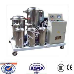 Planta de filtro de aceite vegetal de Zyc