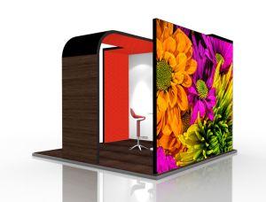 Costumbre China de aluminio de 3x3 Diseño de la pantalla stand Expo Feria el stand de exposiciones
